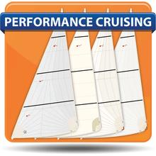 3C Composites Bongo 870 Performance Cruising Headsails