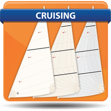 Alberg 19 Typhoon Daysail Cross Cut Cruising Headsails
