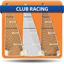 Albin 28 Cumulus Club Racing Mainsails