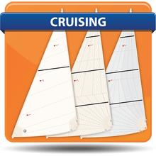 6 Meter Cross Cut Cruising Headsails