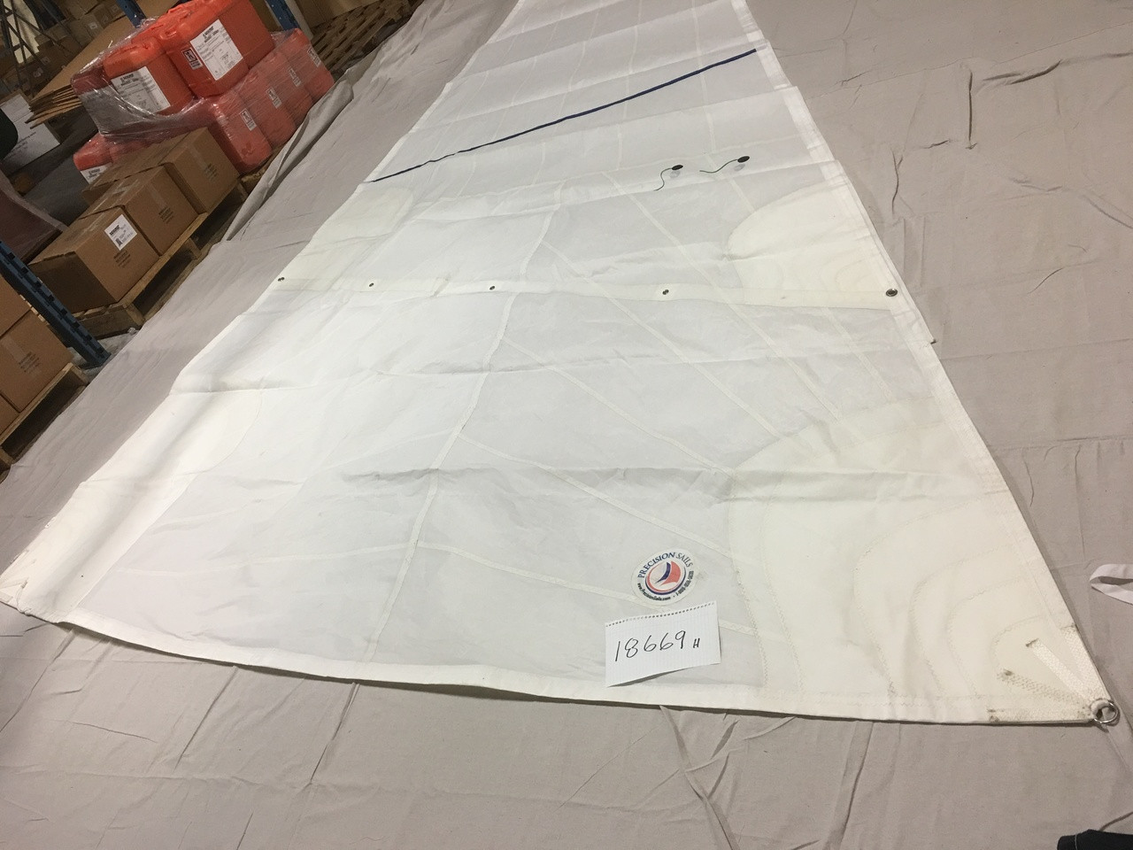 Sold by Precision Sails Used In-Stock Santana 525 Headsail Standard 115 % LP