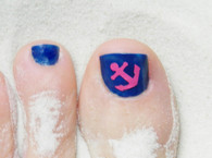 Sea Inspired Toenail Decals (assorted colors)
