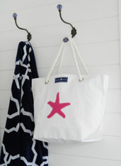 CLEARANCE-MEDIUM STARFISH TOTE