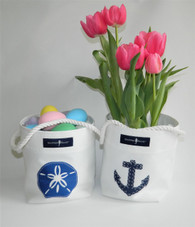 Sea Inspired Bucket Totes