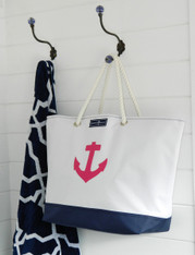 ISLAND HOPPER ANCHOR TOTE~SECONDS AND SAMPLES