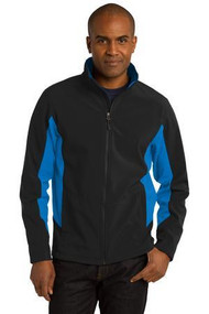 NEURO-J318 Core Colorblock Soft Shell Jacket
