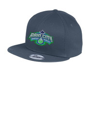 New Era- Flat Bill Snapback