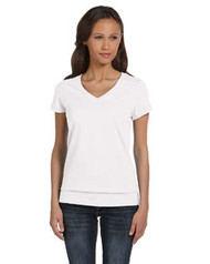 6005 Bella + Canvas Ladies' V-Neck T-Shirt 3