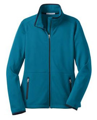 Port Authority Ladies Pique Fleece Jacket