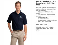 Port & Company Jersey Polo