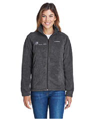 NP-6439 Columbia Ladies' Benton Springs™ Full-Zip Fleece