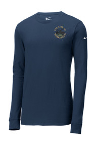 WAR-NKBQ5232-Nike Men's Core Cotton Longsleeve Tshirt