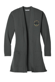 WAR-LK5434  Ladies Concept Long Pocket Cardigan