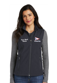 HAP-L325 Ladies Core Soft Shell Vest