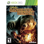 Cabela's Dangerous Hunts 2011 For Xbox 360 Shooter With Manual and - EE672884