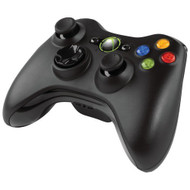 Black Microsoft Xbox 360 Wireless Controller OEM - ZZ672935