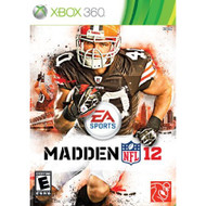 Madden NFL 12 For Xbox 360 Football With Manual And Case - EE672950