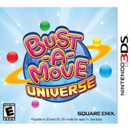 Bust-A-Move Universe Nintendo For 3DS Puzzle With Manual and Case - EE672970