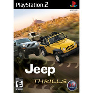 Jeep Thrills For PlayStation 2 PS2 Racing With Case - EE674699