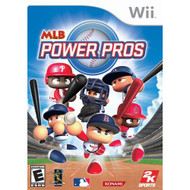 MLB Power Pros For Wii Baseball With Manual and Case - EE674842