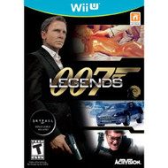 007 Legends For Wii U Shooter With Manual and Case - EE675042