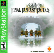 Final Fantasy Tactics For PlayStation 1 PS1 RPG With Manual and Case - EE675142
