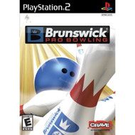 Brunswick Pro Bowling PlayStation 2 For PlayStation 2 PS2 With Manual - EE675176