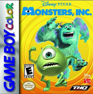 Disney/pixar Monsters Inc On Gameboy Color - EE675607