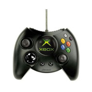 Original Microsoft OEM Xbox Fat Black Duke Controller - ZZ675773