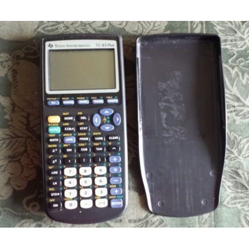 Lot Of 10 Texas Instruments TI 83 Plus Graphic Calculator