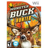 Cabela's Monster Buck Hunter Software Only For Wii And Wii U Shooter - EE677727