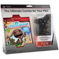 Littlebigplanet Game And Black Dualshock 3 Wireless Controller Bundle - ZZ677871