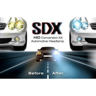 "Hid Xenon DC Headlight Slim"" Conversion Kit By Sdx H4 Dual-Beam Bi - EE677975"