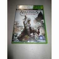 Assassin's Creed III Xbox 360 2012 For Xbox 360 With Manual and Case - EE678195