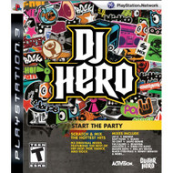 DJ Hero: Start The Party Stand Alone Software For PlayStation 3 PS3 - EE678848