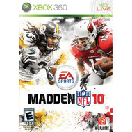 Madden NFL 10 For Xbox 360 Football - EE680124