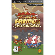 Fat Princess: Fistful Of Cake Sony For PSP UMD With Manual And Case - EE680223
