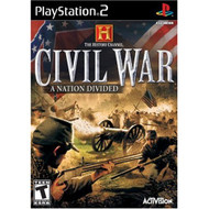 History Channel: Civil War: A Nation Divided For PlayStation 2 PS2 - EE680271
