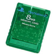 Sony OEM Memory Card 8MB Emerald For PlayStation 2 PS2 - EE680481