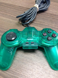 PlayStation Generic Green Wired Controller PS1 For PlayStation 1 - EE680977