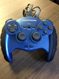 Thurstmaster Controller PS1 For PlayStation 1 Blue HWY489 - EE681102