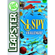 Leapfrog Leapster Game: I Spy Challenger! By Leapfrog For Leap Frog - EE681999