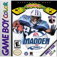 Madden NFL 2001 On Gameboy Color Football - EE682117