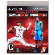 2K Sports Combo Pack MLB2K13/NBA2K13 For PlayStation 3 PS3 - EE682245