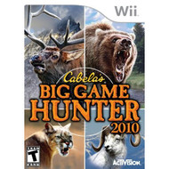 Cabela's Big Game Hunter 2010 Game Only For Wii Shooter - EE682905