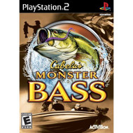 Cabela's Monster Bass For PlayStation 2 PS2 Shooter With Manual and - EE682960