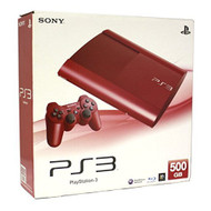 Sony PlayStation 3 PS3 500GB Game Console Red - ZZ681763