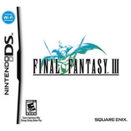 Final Fantasy III For Nintendo DS DSi 3DS 2DS RPG - EE683176