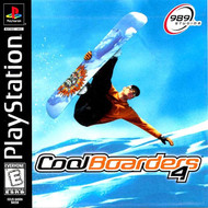 Cool Boarders 4 Ps For PlayStation 1 PS1 With Manual and Case - EE683266