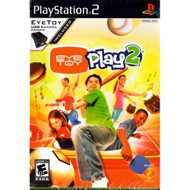 Eye Toy Play 2 Without Camera For PlayStation 2 PS2 Arcade With Manual - EE683840